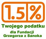 Przekaż nam 1% swojego podatku